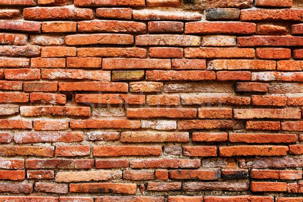 Ancient brick wall background Stock photo © leungchopan