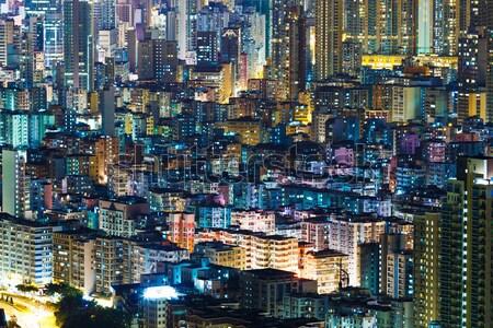 Hong Kong cityscape Stock photo © leungchopan