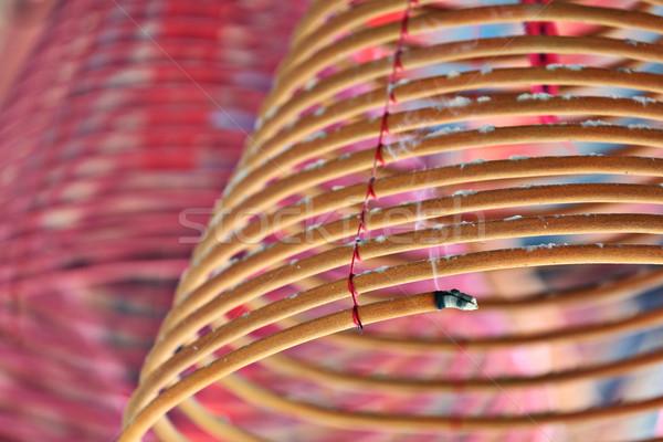 Burning Incence coils Stock photo © leungchopan