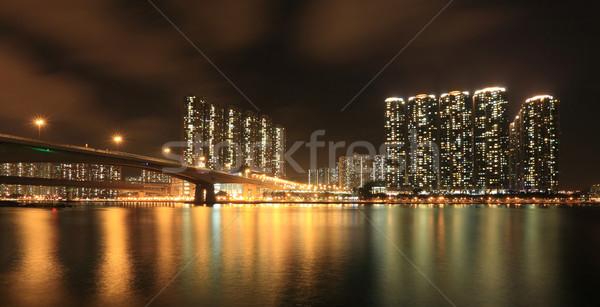Stok fotoğraf: Iş · towers · yerleşim · daire · binalar · Hong · Kong