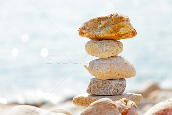balance rocks Stock photo © leungchopan