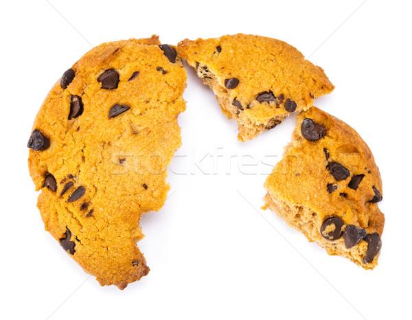 Crashed Chocolate Cookies Stock photo © leungchopan