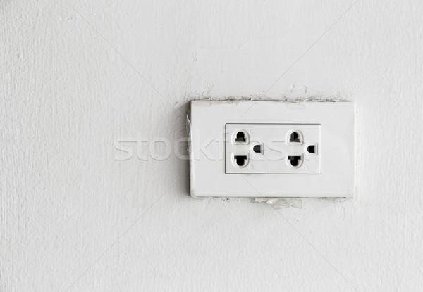 Power Outlet Stock photo © leungchopan