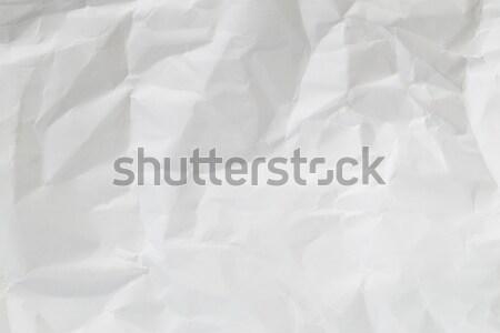 White crumple paper Stock photo © leungchopan