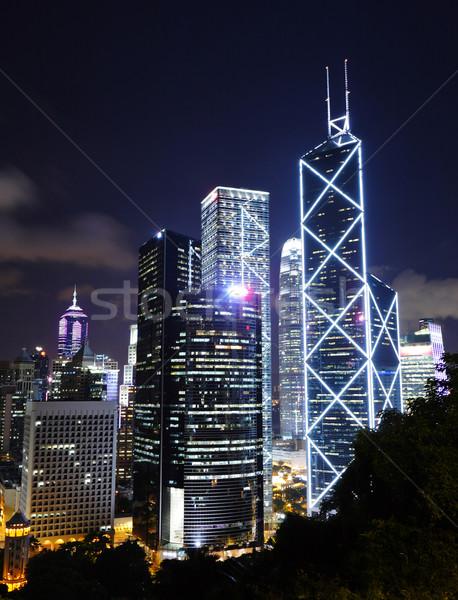 Central distrito Hong Kong edifício cidade paisagem Foto stock © leungchopan