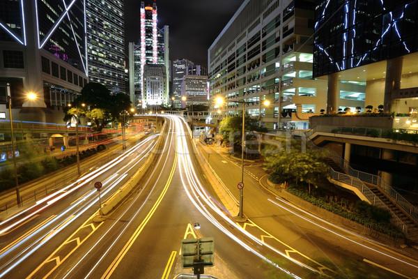 traffic in city Stock photo © leungchopan