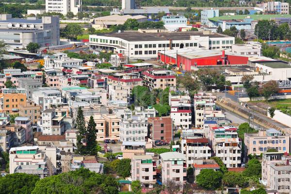 Yuen Long district in Hong Kong Stock photo © leungchopan