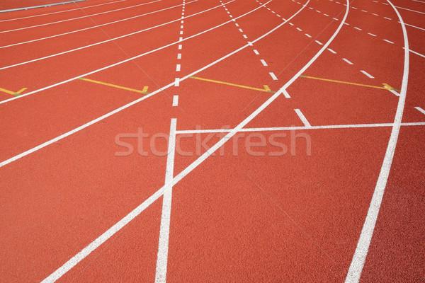 sport field lines Stock photo © leungchopan
