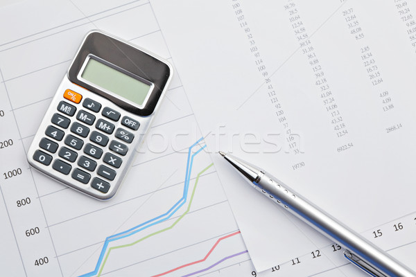accounting Stock photo © leungchopan