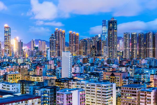 Cityscape in Hong Kong Stock photo © leungchopan