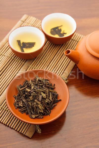 Traditional chinese tea beverage Stock photo © leungchopan