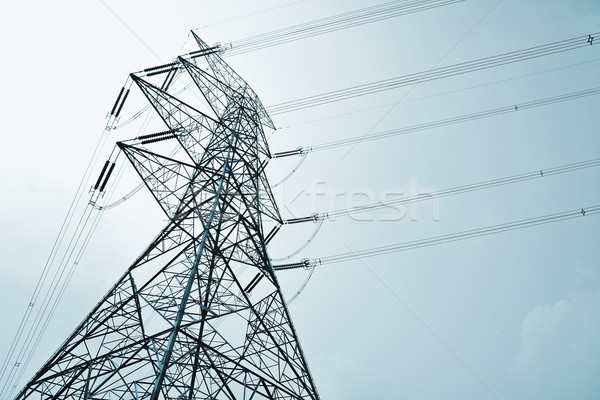 Power Transmission Line Stock photo © leungchopan
