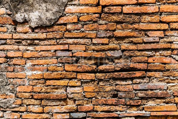 Ancient brick wall Stock photo © leungchopan