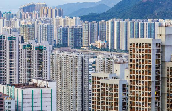 City in Hong Kong Stock photo © leungchopan