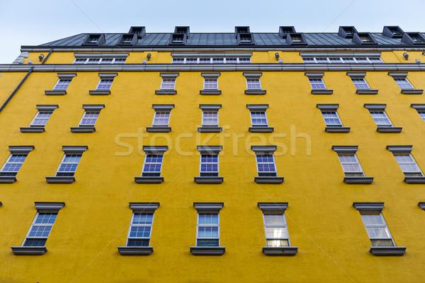 British style architecture Stock photo © leungchopan