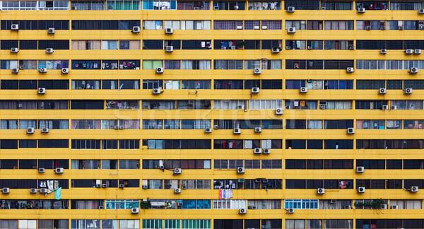 Building facade Stock photo © leungchopan