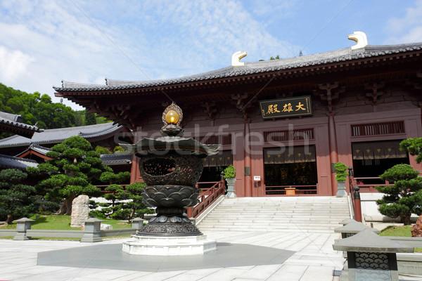 Chi Lin Nunnery Stock photo © leungchopan
