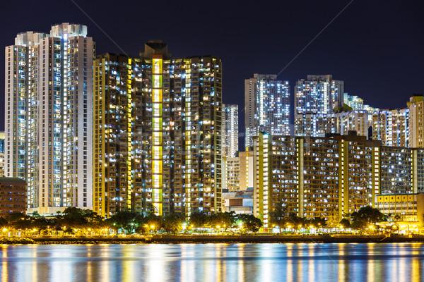 Residential district in Hong Kong Stock photo © leungchopan