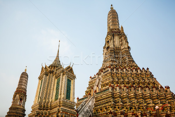 The Temple of Dawn Wat Arun Stock photo © leungchopan