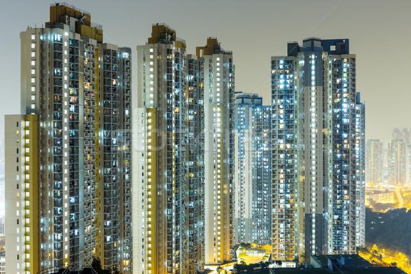 Building in Hong Kong Stock photo © leungchopan
