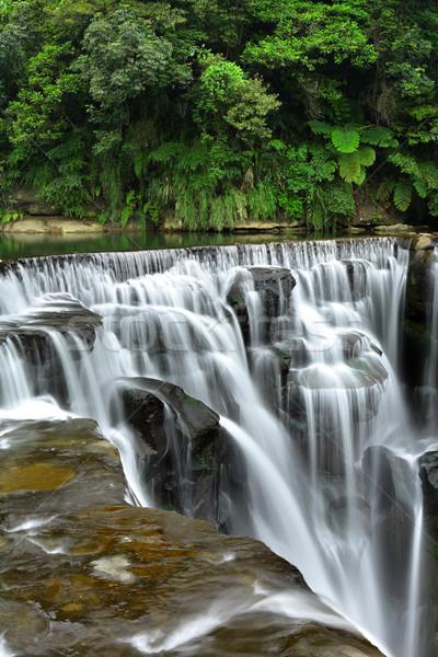 waterfall Stock photo © leungchopan