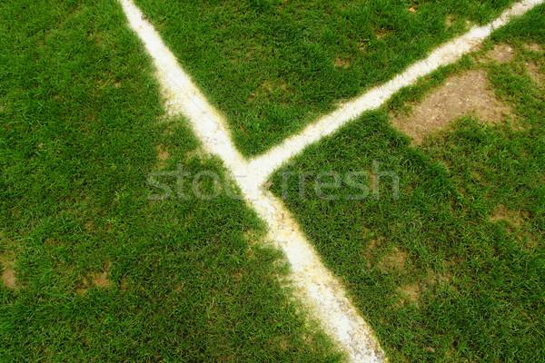 football field line Stock photo © leungchopan
