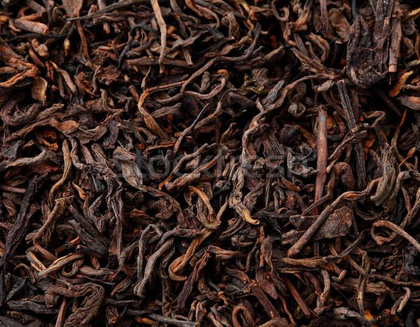 китайский черный чай природы лист природного Сток-фото © leungchopan