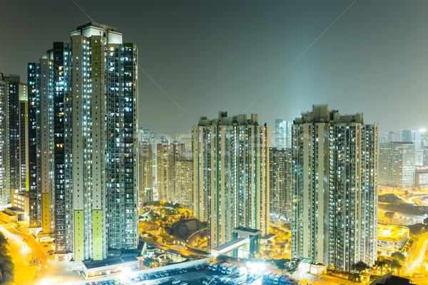 Hong Kong tall building Stock photo © leungchopan