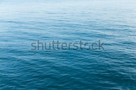 Blue water surface of sea Stock photo © leungchopan