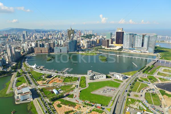 Macau city view Stock photo © leungchopan