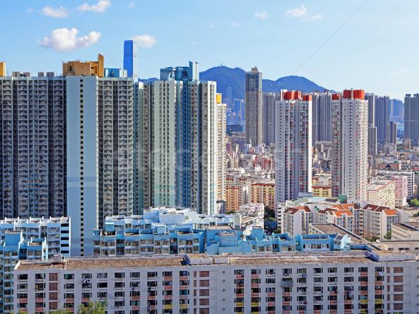 Photo stock: Hong-Kong · public · logement · appartement · ciel · ville