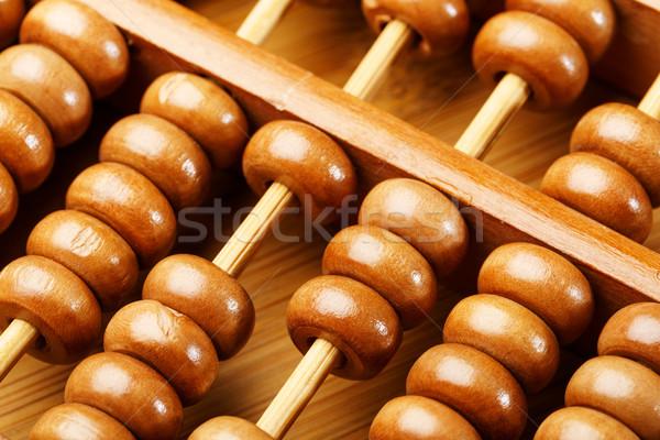 Chinese traditional calculator, abacus Stock photo © leungchopan