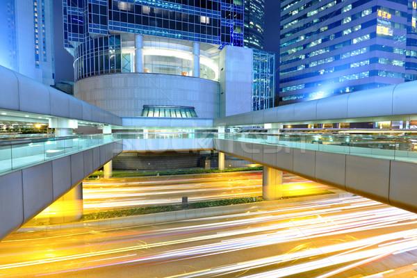 как ночному городу бизнеса дороги город аннотация Сток-фото © leungchopan