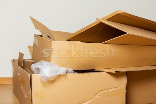 Opened Carton box  Stock photo © leungchopan