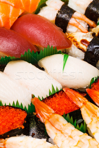 Japanese sushi takeaway Stock photo © leungchopan