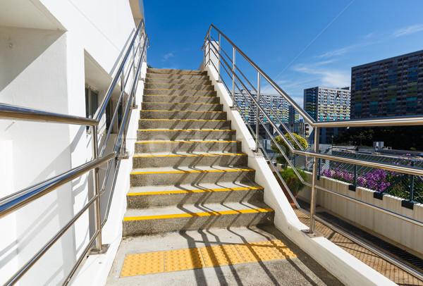 цемент лестница полу архитектура конкретные шаги Сток-фото © leungchopan