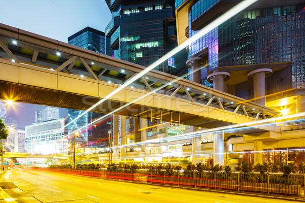 Traffic light in Hong Kong Stock photo © leungchopan