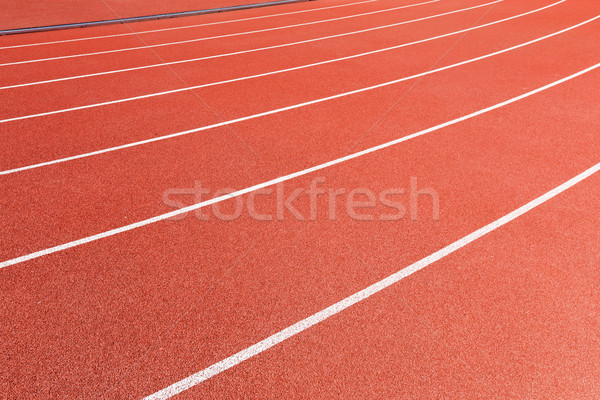 Athletic track Stock photo © leungchopan