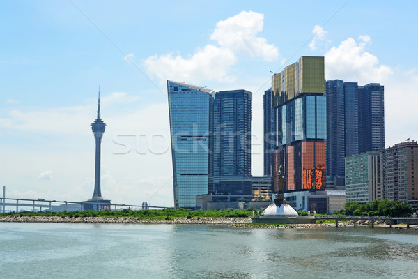 Macau downtown Stock photo © leungchopan