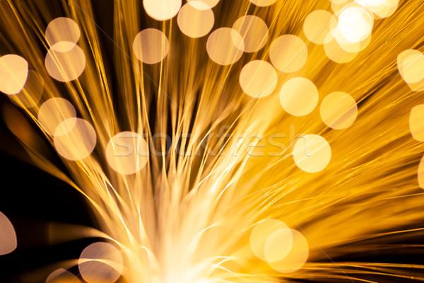 Fibre Optic Light  Stock photo © leungchopan