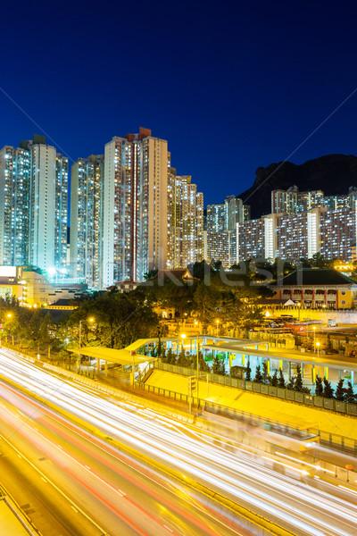Hong Kong residential area Stock photo © leungchopan