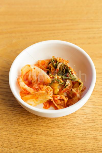 Korean food, kim chi Stock photo © leungchopan