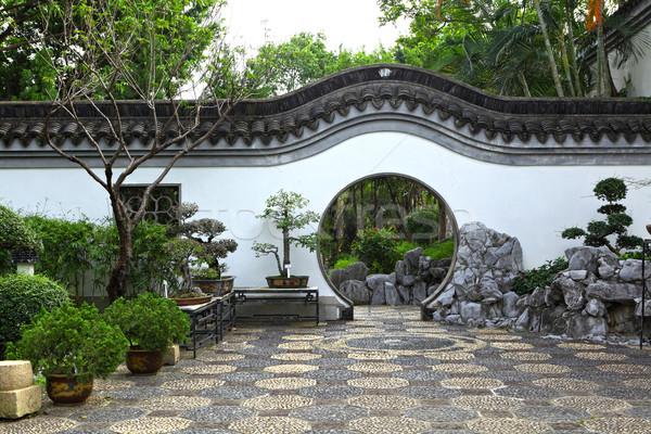 chinese garden Stock photo © leungchopan
