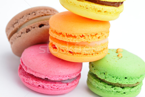 macaroon Stock photo © leungchopan