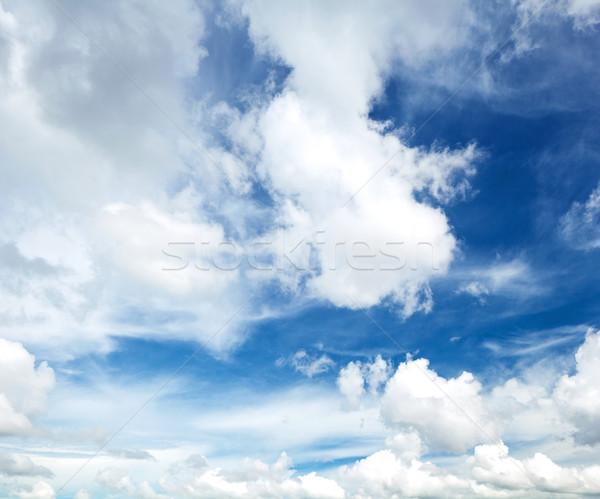 Sunny day cloudscape Stock photo © leungchopan