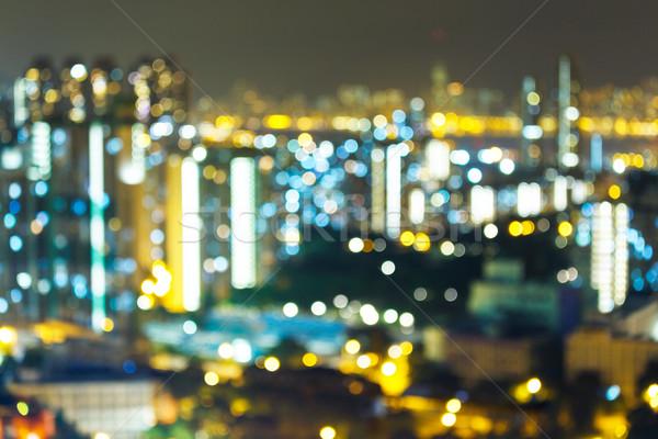Night lights of the big city  Stock photo © leungchopan