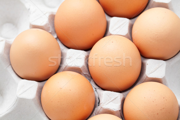 eggs in package Stock photo © leungchopan