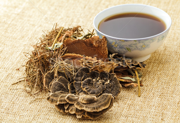 Traditional chinese herbal tea Stock photo © leungchopan
