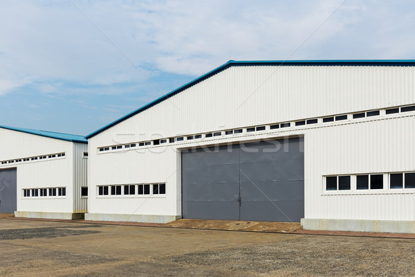 Storage warehouse unit Stock photo © leungchopan