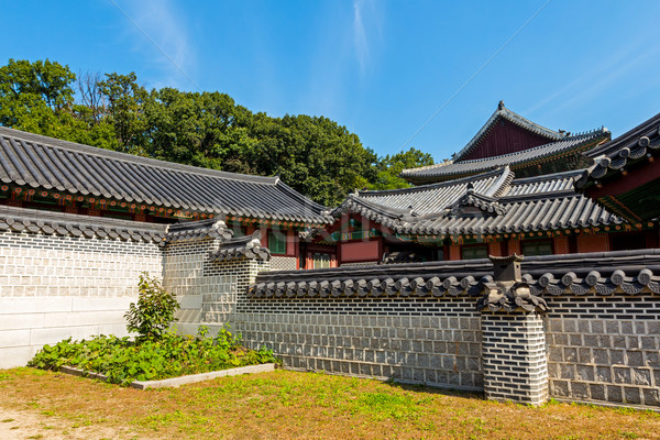 Ancient traditional architecture  Stock photo © leungchopan